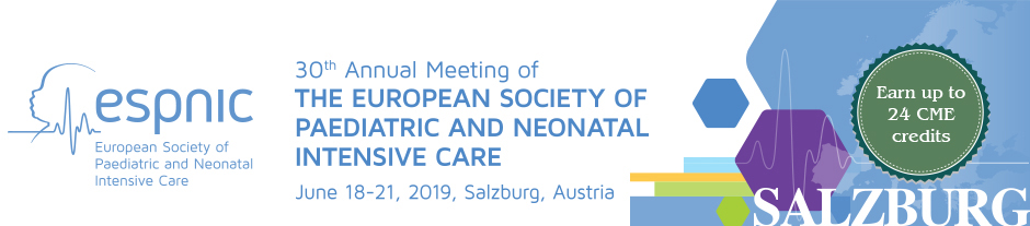 ESPNIC 2019 - Paediatric and Neonatal Intensive Care Meeting